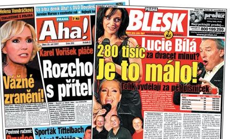 Deníky Blesk a Aha