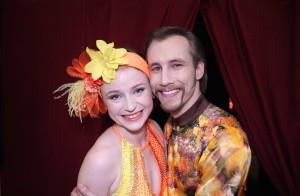 Marie Doležalová a Marek Zelinka - vítěz stardance 2015