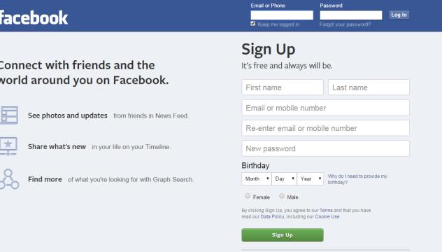 Facebook přihlášení se na svůj, facebook přihlásit se, facebook.com