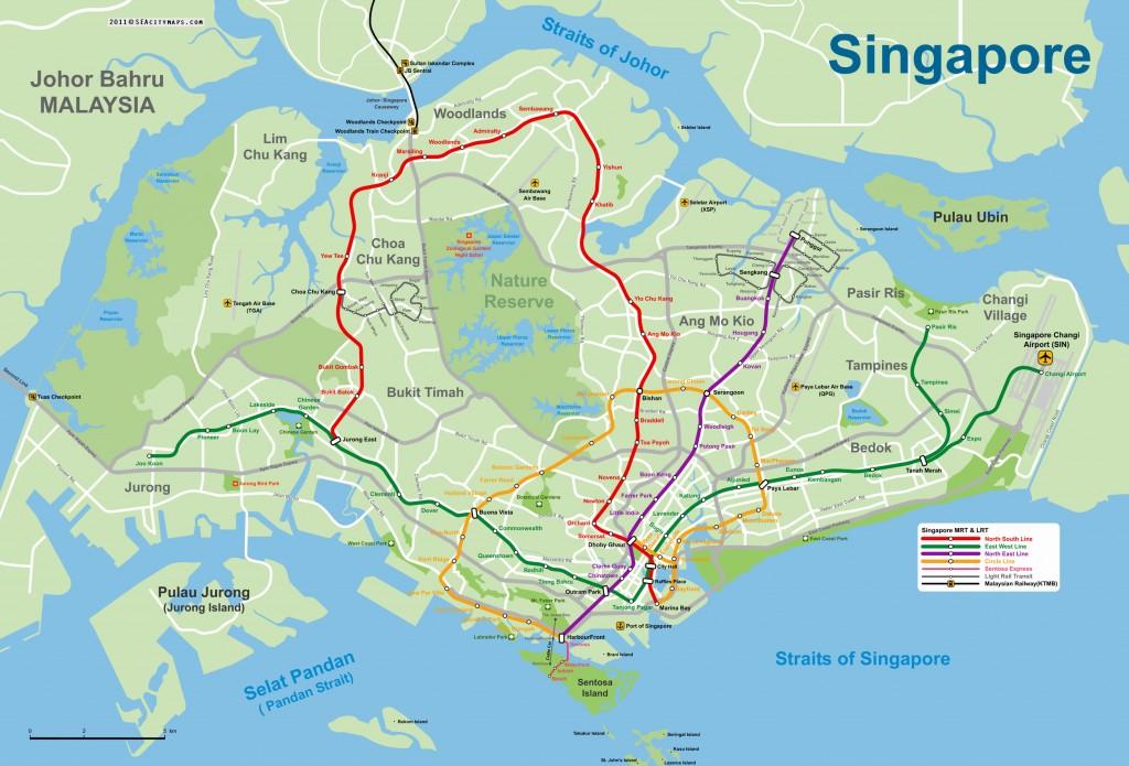 Veřejná doprava Singapur