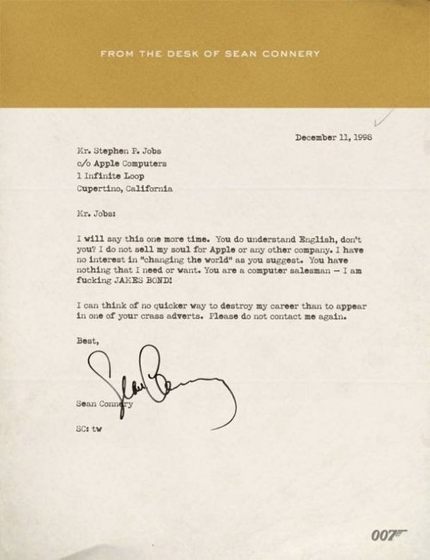 sean-connery-steve-jobs-apple-letter